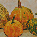 Still Life With Pumpkins by Iliyan Bozhanov