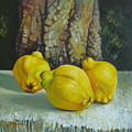 Still Life With Quinces by Elena Oleniuc