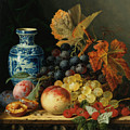 Still Life With Rasberries by Edward Ladell