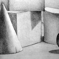 Still Life With Shapes by Nancy Mueller