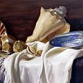 Still Life With Shells by Simon Kozhin