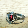 Still Life With Silver Ring  by Jaroslaw Blaminsky