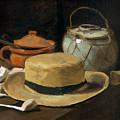 Still Life With Straw Hat, By Vincent Van Gogh, 1881, Kroller-mu by Peter Barritt
