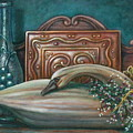 Still Life With Swan by Colleen  Maas-Pastore