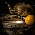 Still Life With Tea Cup by Edward Fielding