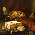 Still-life With The Violin by Tigran Ghulyan