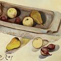 Still Life With Tub by Raimonda Jatkeviciute-Kasparaviciene
