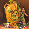 Still Life With Urn by Laura Lee Zanghetti