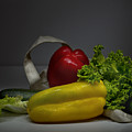Still-life With Vegetables  by Lali Nisi