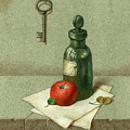 Still Life With Vial by Victor Sap