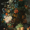 Still Life, Flowers by Jan van Huysum