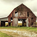 Still Standing Ohio Barn  by Betty Pauwels