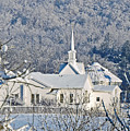 Still The Little White Church In Peoria by Regine Brindle