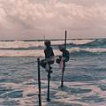 Stilt Fishermen Of Sri Lanka by Omar Shafey