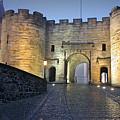 Stirling Castle Scotland In A Misty Night by Christine Till