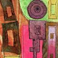 Stitched Towers  by Elizabetha Fox