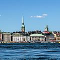 Stockholm From Lake Malaren by Bob McCormac