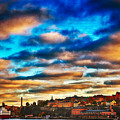Stockholm In Bold Colors by Ramon Martinez