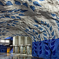 Stockholm Metro Art Collection - 002 by Kevin Cho