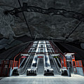 Stockholm Metro Art Collection - 007 by Kevin Cho
