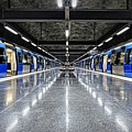 Stockholm Metro Art Collection - 008 by Kevin Cho