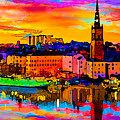 Stockholm Reflective Art by Ron Fleishman