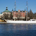 Stockholm Ship by Suzanne Luft