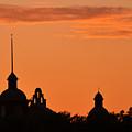 Stockyard Sunset by Ricardo J Ruiz de Porras