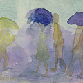 Stomping In The Rain by Vicki  Housel