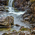 Stone And Waterfall #h5 by Leif Sohlman