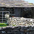 Stone Barn Doolin Ireland by Teresa Mucha
