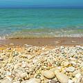 Stone Beach At Lake Michigan by Dan Sproul