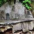 Stone Bench Two by Eva Thomas