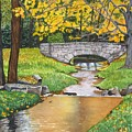 Stone Bridge by Sharon Farber