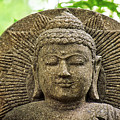 Stone Buddha  by Angela Doelling AD DESIGN Photo and PhotoArt