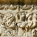 Stone Carving On Mausoleum Of The Julii by Just Eclectic