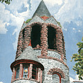 Stone Church Bell Tower by Dominic White
