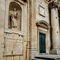 Stone Church In Dubrovnik Croatia by Global Light Photography - Nicole Leffer
