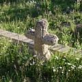 Stone Cross by Peter  McIntosh
