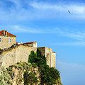 Stone Fortified City Walls Of Dubrovnik, Croatia by Global Light Photography - Nicole Leffer