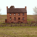 Stone House At Manassas by Peter Williams