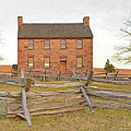 Stone House / Manassas National Battlefield / Winter Morning by Digital Photographic Arts