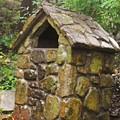 Stone Hut by Lori Mahaffey
