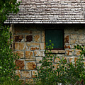 Stone Outhouse 1 by Ron Glaser