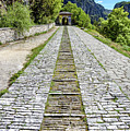 Stone Road At Vikos Gorge, Zagori, Greece by Global Light Photography - Nicole Leffer