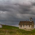 Stone Schoolhouse by Guy Shultz