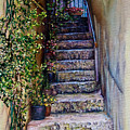 Stone Steps by Michel Angelo Rossi