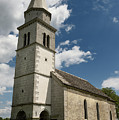 Stone Tile Roof Of The Church Of The Holy Cross In Tomaj Parish  by Reimar Gaertner