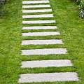 Stone Walkway by John Trax