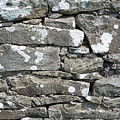 Stone Wall Detail Doolin Ireland by Teresa Mucha